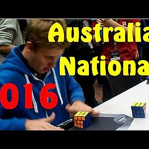 Australian Nationals 2016 Rubik's Cube Competition! - YouTube