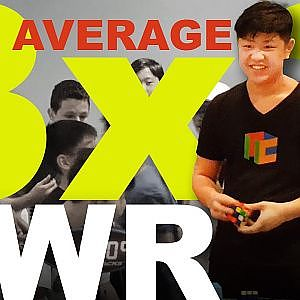 Max Park 3x3 Average WR - YouTube