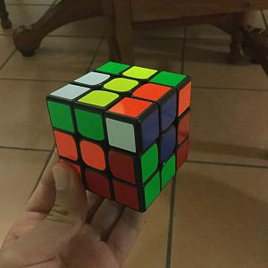 First angle of cube
