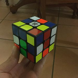 Second angle of cube