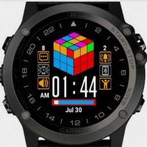 Looking for A Good Rubik's Cube Clock Face